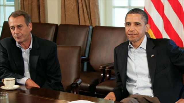 VIDEO: President Obama and Speaker John Boehner are leading negotiations to curt