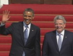 VIDEO: President will speak at the same place in Berlin where Reagan gave his