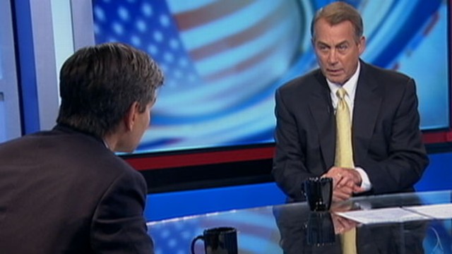VIDEO: Boehner Not Going to Pass a Clean Debt Limit Increase
