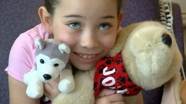VIDEO: Neal Karlinsky reports on the little girl who is making medical history.