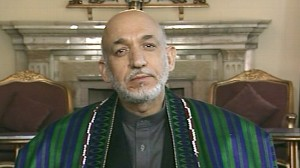VIDEO: Diane Sawyer talks to President Karzai.
