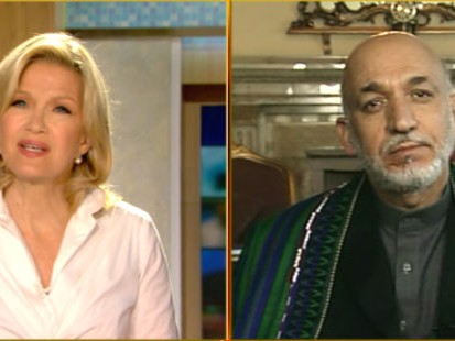 VIDEO: President Hamid Karzai says the fight against al Qaeda is not in Afghanistan.
