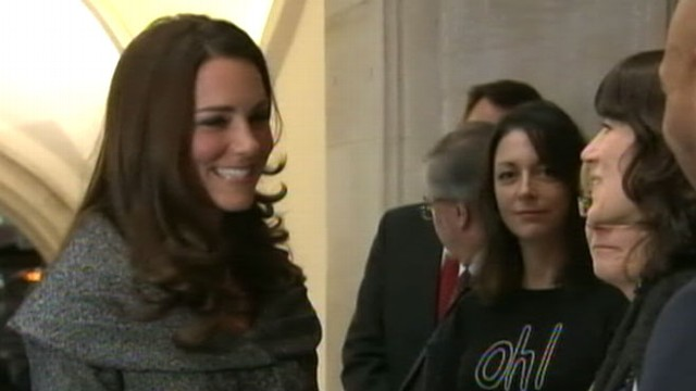 VIDEO: Kate Middletons first event alone and a first look and Harrys U.S. training.