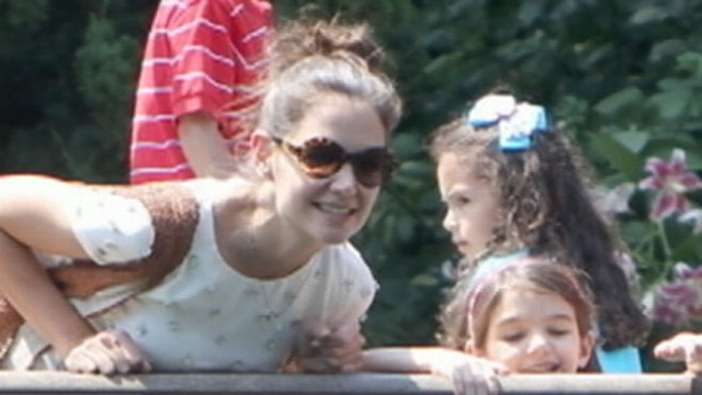 Mom-daughter duo are seen at the Central Park Zoo amid split from Tom Cruise.