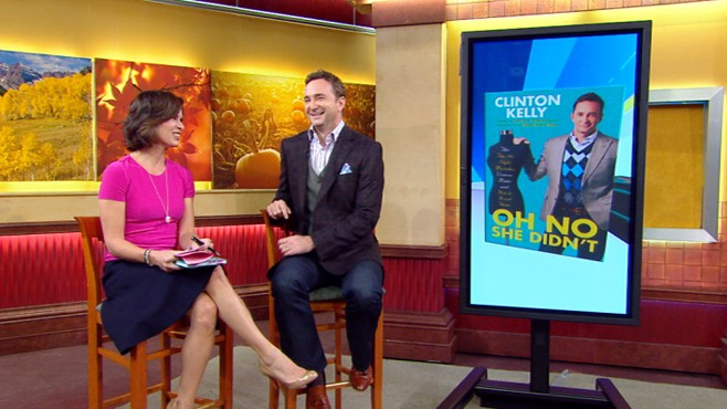 VIDEO: Clinton Kellys new book offers useful tips and tricks to help you look great.