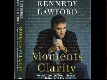 VIDEO: The cover of Christopher Kennedy Lawfords book Moments of Clarity.