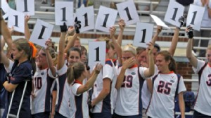 VIDEO: Womens lacrosse team wins its first game since the death of Yeardley Love.