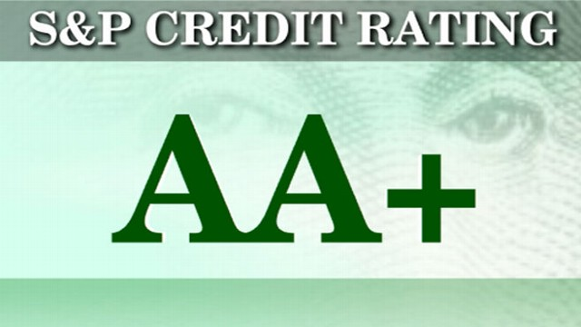 VIDEO: America downgraded to AA after nearly 100 years of perfect AAA credit rating.