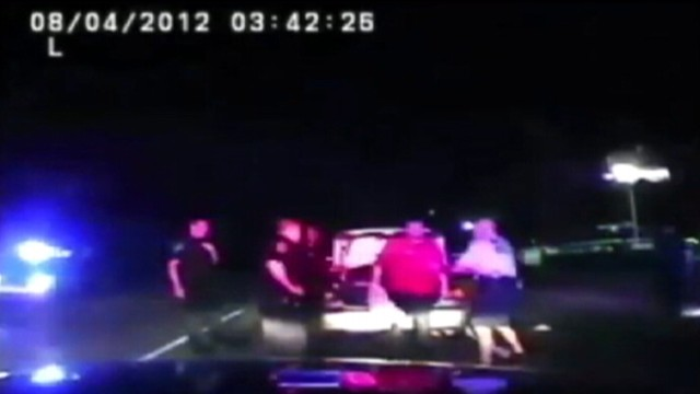 VIDEO: Dash Cam video caught the moment a routine traffic took a strange twist.