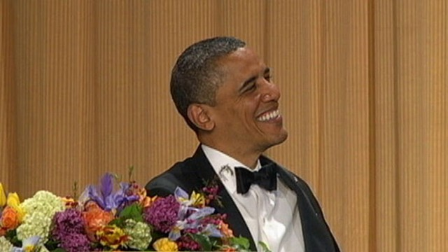 VIDEO: Late night comedian pokes fun at everyone from Obama to Mitt Romney.