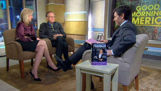 VIDEO: The talk show host's producer Wendy Walker discusses her new book about TV.