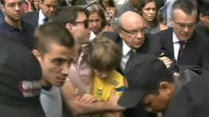 VIDEO: Daniel Goldmans long battle for custody of son Sean comes to an end.