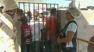 VIDEO: The border-town Jimani is overwhelmed with Haitian survivors in need of help.