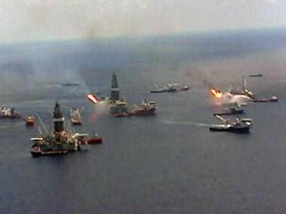 VIDEO: Storm threatens oil relief wells
