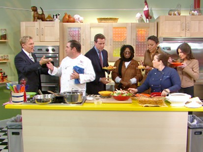 """VIDEO: """"GMA"""" reveals Emiril Lagasses come together dinner."""