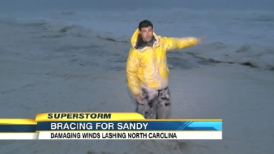 VIDEO: A look at what the East Coast can expect when Hurricane Sandy hits.