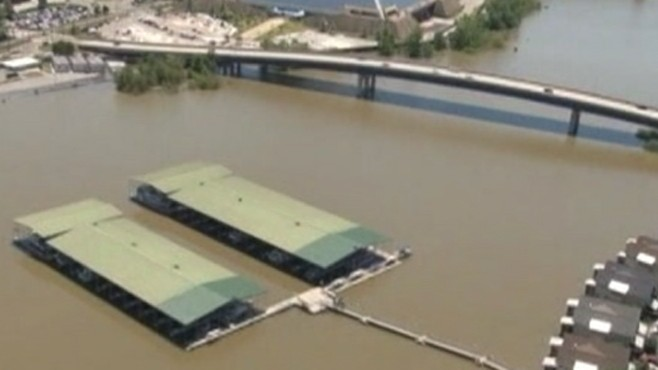 VIDEO: Residents reflect on damage and loss caused by rising Mississippi River waters.