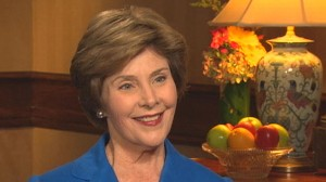 VIDEO: Laura Bush gets the word out on heart disease in women.