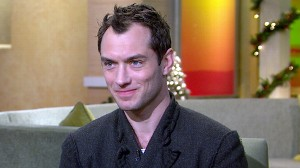 """VIDEO: The actor talks about his role in the new """"Sherlock Holmes."""""""