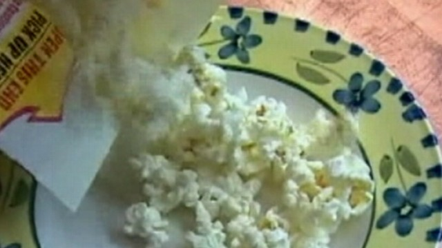 VIDEO: Wayne Watson ate 2-3 bags of microwave popcorn a day until he developed a rare condition.
