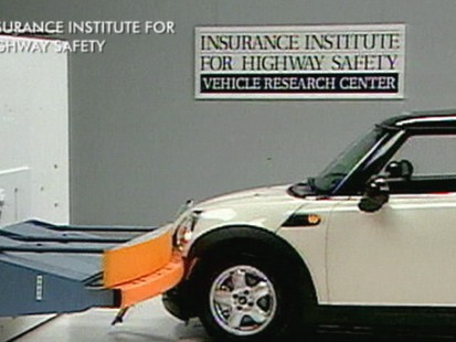 VIDEO: Mini Cars Can Mean Big Bills, According to Crash Test