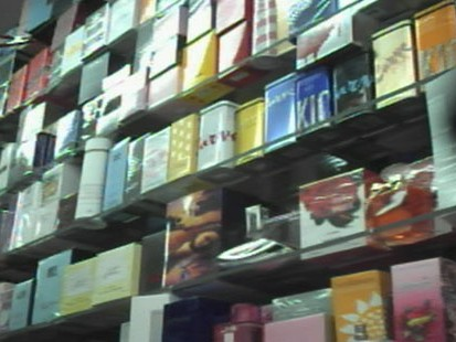 VIDEO: Urine and antifreeze have been found in some counterfeit fragrances.