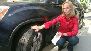 VIDEO: Elisabeth Leamy explains how to properly check tread depth and pressure in tires.