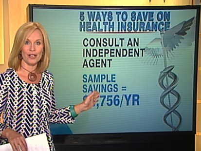 VIDEO: Elisabeth Leamy offers five tips that help lower your health insurance costs.