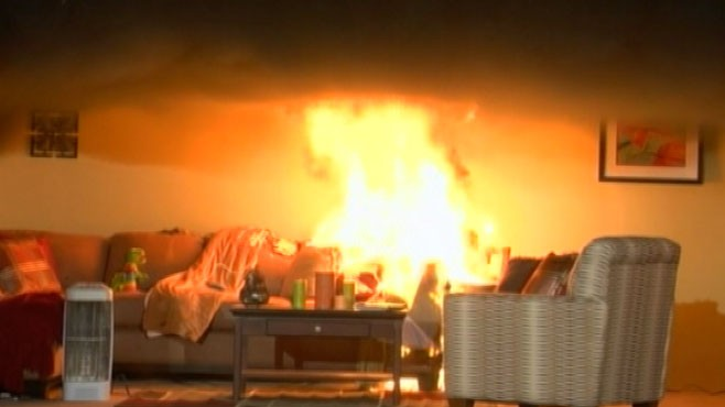 VIDEO: Misuse of ordinary products in homes can become winter fire hazards.