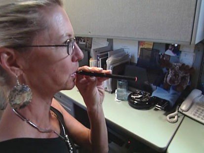 VIDEO: Electronic cigarettes replace smoke with water vapor, but might not be safe.
