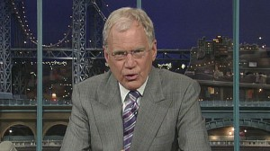 VIDEO: David Lettermans jokes about the Palin family prompts angry response.