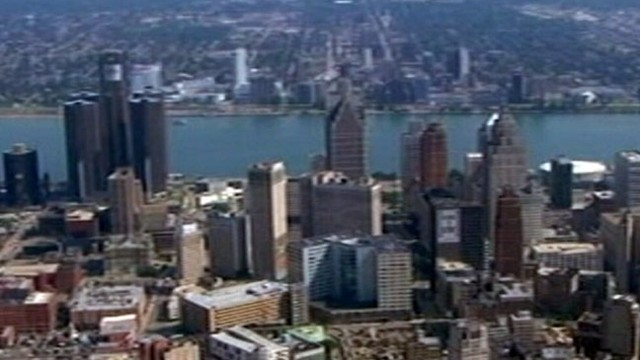 VIDEO: City of Detroit Files for Bankruptcy