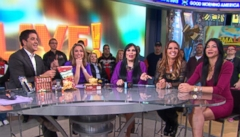 "VIDEO: Josh and Amy get a visit from the stars of ""Mob Wives"" on GMA Live!"