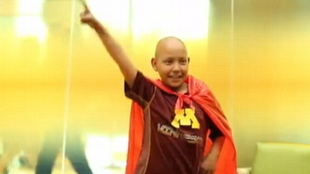 "VIDEO: An inspiring group of young cancer patients reveal how ""Brave"" they truly are."