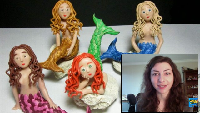 VIDEO: Clay Sculptor Has Been Making Art Since She Was 8