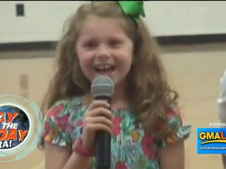 Watch: Military Father Surprises Daughter, 7, at School