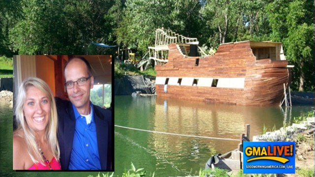 VIDEO: Man Builds Pirate Ship for Wedding Day