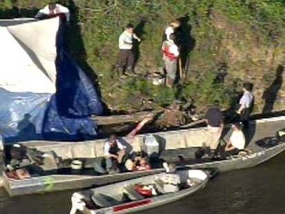 VIDEO: A body was found in a barrel on the banks of the Illinois River.