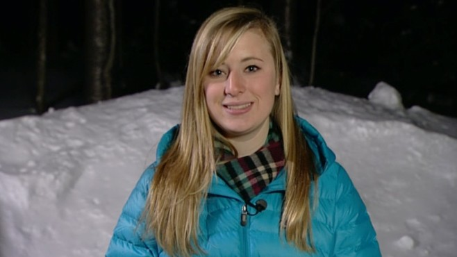 VIDEO: Rebecca London recounts plummet from chairlift at Sugarloaf resort in Maine.