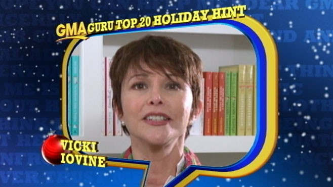 VIDEO: You decide if Vicki's tips will help make this holiday season less stressful.