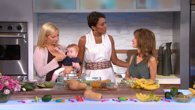 VIDEO: Liza Huber and Susan Lucci explain how to prepare fun meals for your baby.