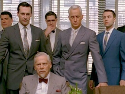 A picture of the cast of Mad Men.