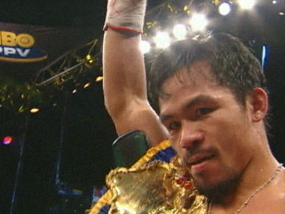 VIDEO: Manny Pacquiao is King of the Ring