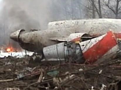 VIDEO: Polish President Plane Crash