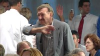 VIDEO: Town hall meetings dissolve into shouting, chaos over health care reform.
