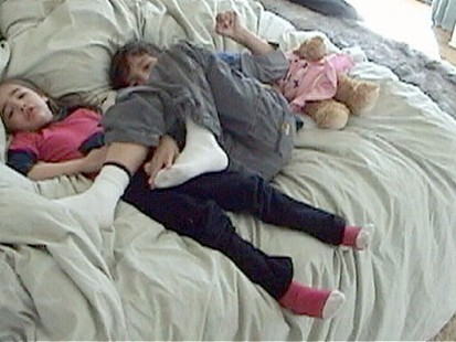 VIDEO: New research suggests that kids sleep better in their own beds.