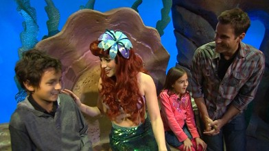 """VIDEO: New theme park allows visitors to visit scenes from """"Beauty and the Beast,"""" """"Dumbo."""""""