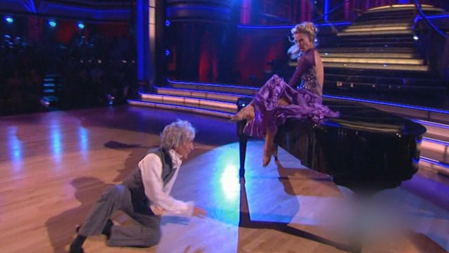 VIDEO: The Science Guy is in crutches after a slip on the dance floor.