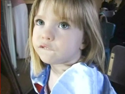 A picture of Maddie McCann.