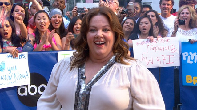 "VIDEO: Melissa McCarthy stars alongside Sandra Bullock in summer comedy ""The Heat."""